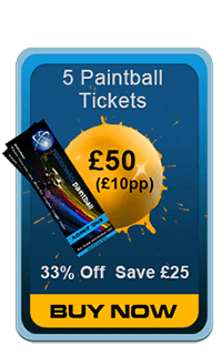 Nationwide Paintball  5 Nationwide Paintball Tickets
