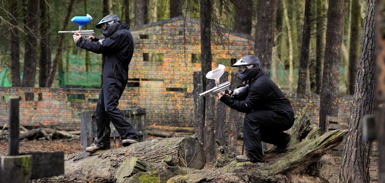 Paintballing deals for friends and family