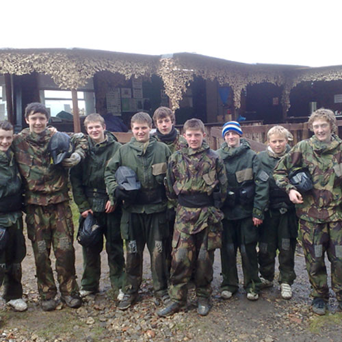 Dorking paintball