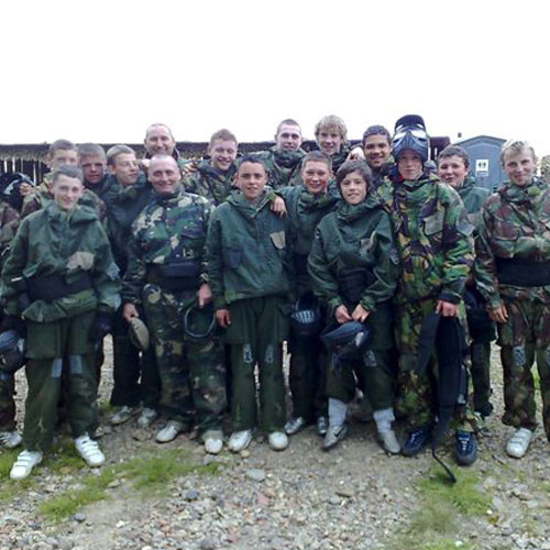 Rayleigh paintball