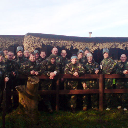 Redditch paintball